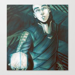 The Tesseract Canvas Print