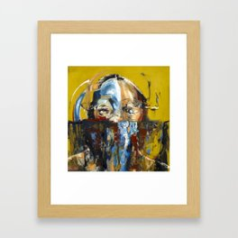 """Impossible Monsters """"Yellow"""" Framed Art Print"""