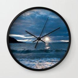 baikal, lake, waves, coast Wall Clock