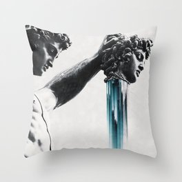 Perseus and  Medusa Throw Pillow