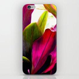 Ti Leaf Bouquet iPhone Skin
