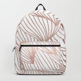 Rose gold petals Backpack