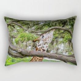 Just Minding My Own Business Rectangular Pillow
