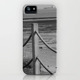 Ropes At Low Tide iPhone Case