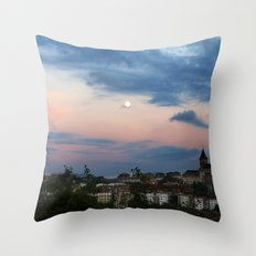 pastel shades for days Throw Pillow