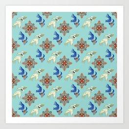 Aquarium 2b Art Print