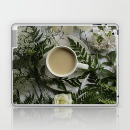 Flowers and Coffee Laptop & iPad Skin