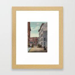 Olde Albany Framed Art Print