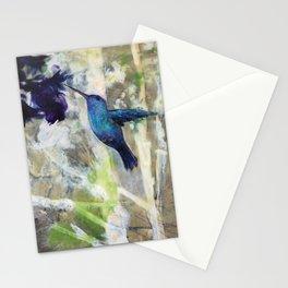 Hummingbird Haze Stationery Cards