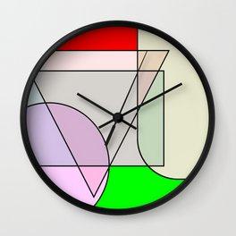 Colorandform mixery 3 Wall Clock
