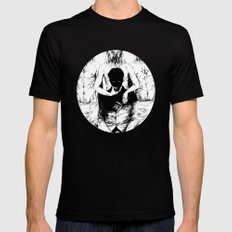 TEETHING Black SMALL Mens Fitted Tee