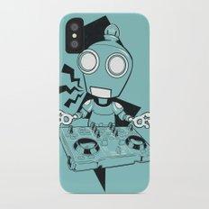 Robot DJ Slim Case iPhone X