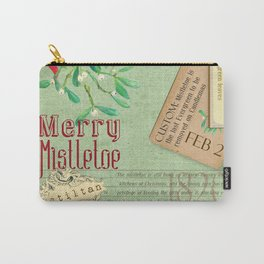 Merry Mistletoe Carry-All Pouch