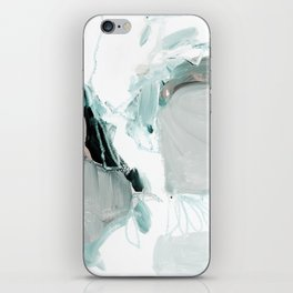 abstract painting XX iPhone Skin