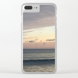 Dual personality Clear iPhone Case