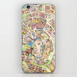Cityplan iPhone Skin