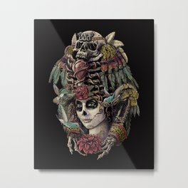 Day of the Dead (Ancient Guardians) Metal Print