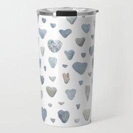 Heart rocks Travel Mug