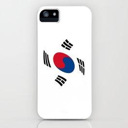 flag of south korea 2 -korea,asia, 서울특별시,부산광역시, 한국,seoul iPhone Case