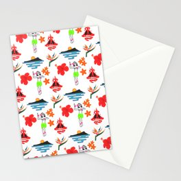Hawaii Pattern Stationery Cards