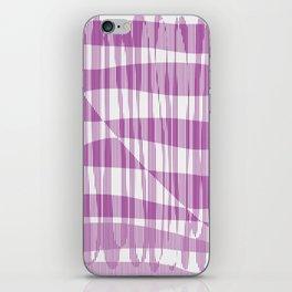 Purple/Violet Pattern iPhone Skin