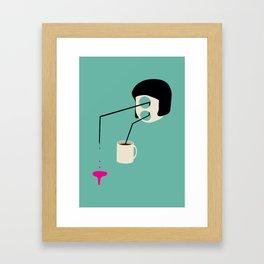 Uncoffee Machine Framed Art Print
