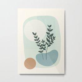 Azzurro Shapes No.51 Metal Print