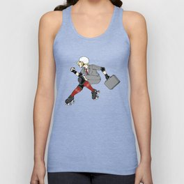 Derby is Business Unisex Tank Top