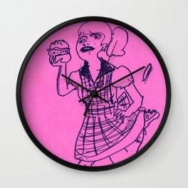 Lolitarrhea Burger Queen Wall Clock