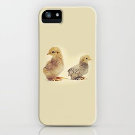 Two chicks iPhone Case