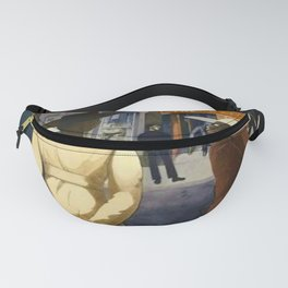 Harlem Sunday Morning African American Masterpiece by E. Burra Fanny Pack