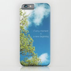 New Moment New Beginning iPhone 6s Slim Case