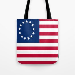 Historical flag of the USA: Betsy ross Tote Bag