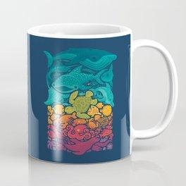 Aquatic Spectrum Coffee Mug