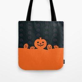 Pumpkins Design Tote Bag