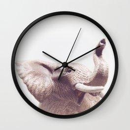 Baby Elephant - Kids Room Photography Wall Clock