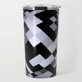 black-and-white -05- Travel Mug