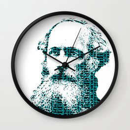 James Clerk Maxwell's Equations Wall Clock