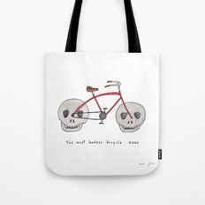 the most badass bicycle ever Tote Bag