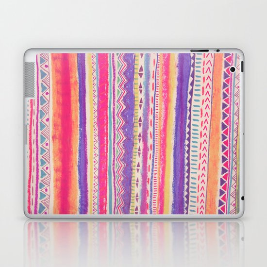 TRIBAL CRAYON / Laptop & iPad Skin