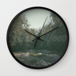 wild wood Wall Clock