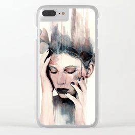 Engulfed Clear iPhone Case