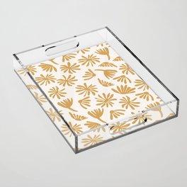Daisies Acrylic Tray