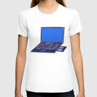 laptop T-shirts featuring  Laptop  by Sofia Youshi
