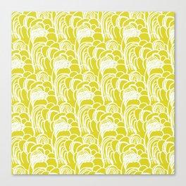 zuma beach: california waves Canvas Print