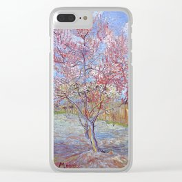 Van Gogh Clear iPhone Case