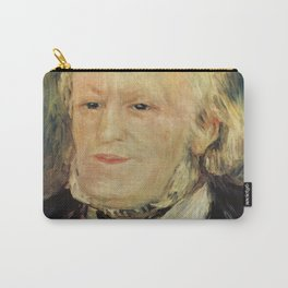 Richard Wagner (1813 – 1883) by Auguste Renoir (1841 - 1919) in 1882 Carry-All Pouch
