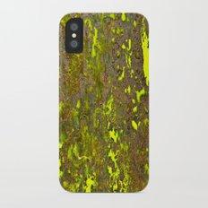 Yellow Rust iPhone X Slim Case