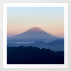Mt. Fuji, Japan Art Print