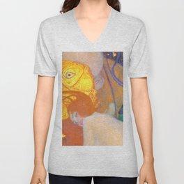 "Gustav Klimt ""Goldfische"" (1) Unisex V-Neck"